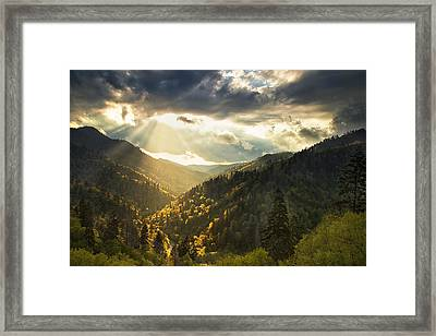 Beauty After The Storm Framed Print by Andrew Soundarajan