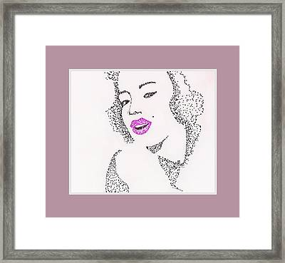 Beauty Framed Print by Anne Costello