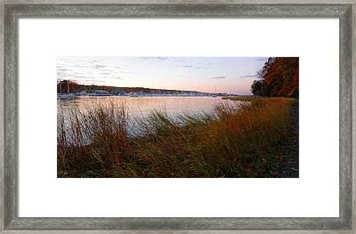 Beauty It Brings Framed Print by Lourry Legarde