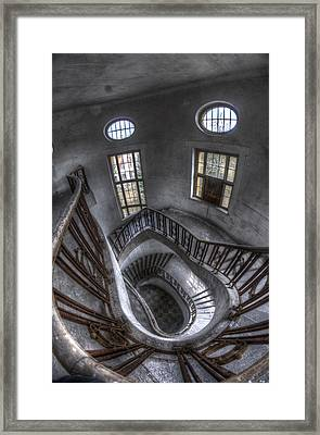 Beauty Looking Down Framed Print by Nathan Wright