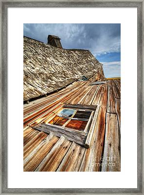 Beauty Of Barns 6 Framed Print by Bob Christopher