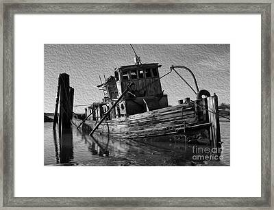 Beauty Of Ships Mary D Hume Oregon Framed Print by Bob Christopher
