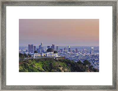 Beauty On The Hill Framed Print by Scott Campbell