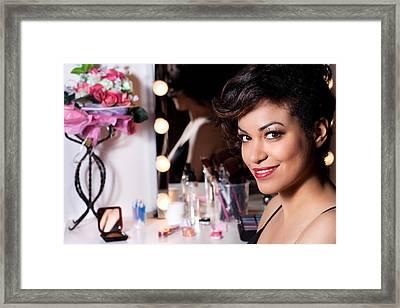 Beauty Portrait Framed Print by Artur Bogacki