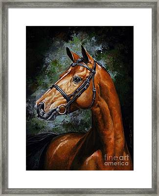 Beauty Real Framed Print by Emerico Imre Toth