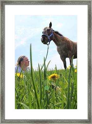 Beauty Framed Print by Tiffany Erdman