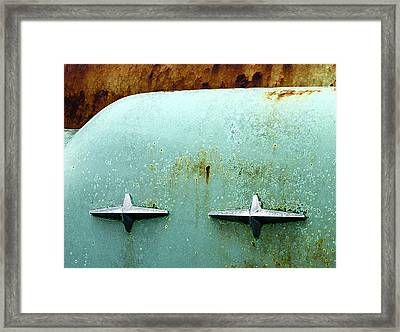 Beauty With Age Framed Print by Jean Noren