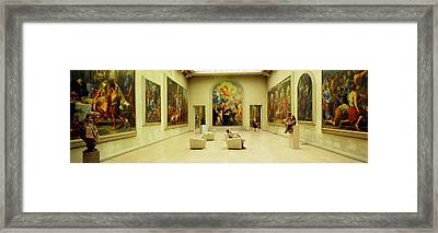Beaux Arts Museum Lyon France Framed Print by Panoramic Images