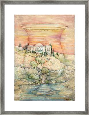 Becher Landscape Framed Print by Michoel Muchnik