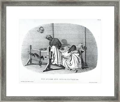 Bed-stocks Framed Print by British Library