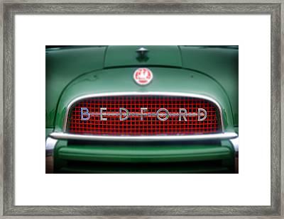 Bedford Framed Print by Mark Rogan