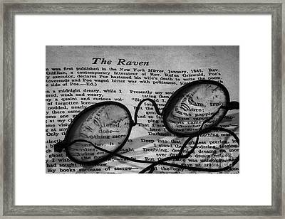 Bedtime Stories Framed Print by Mitch Shindelbower