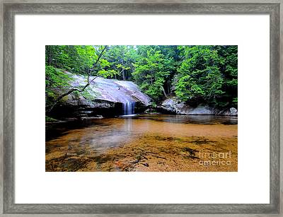 Beede Falls  Framed Print by Catherine Reusch  Daley