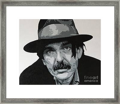 Beefheart Framed Print by ID Goodall