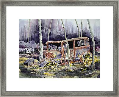 Been There Framed Print by Sam Sidders