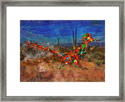 Beep Beep Framed Print by Jack Zulli
