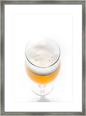 Beer Smiling Framed Print by Martin Joyful