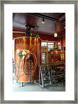Beer - The Brew Kettle Framed Print by Paul Ward