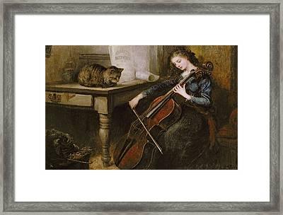 Beethovens Andante Framed Print by John Alfred Vintner