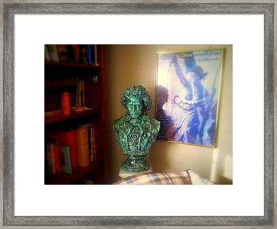 Beethoven's Corner Framed Print by Glenn McCarthy