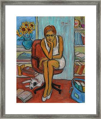 Before Exams Framed Print by Xueling Zou