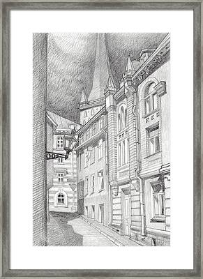 Before Rain Framed Print by Serge Yudin