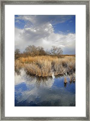 Before The Big Storm Framed Print by Guido Montanes Castillo