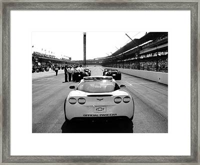 Before The Start Framed Print by Jeff Taylor