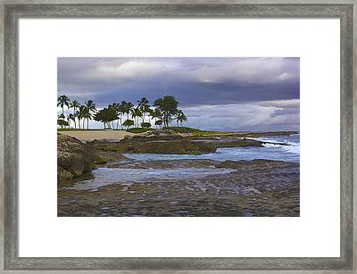 Before The Storm Framed Print by Eddie Freeman