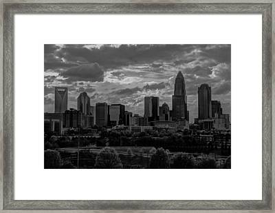 Before The Storm Framed Print by Serge Skiba