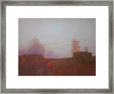 Before The Sun Breaks  Framed Print by Harvey Rogosin