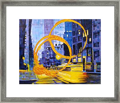 Before These Crowded Streets Framed Print by Joshua Morton