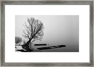 Beginning Of The End Framed Print by Davorin Mance