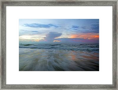 Beginnings At Topsail Framed Print by Betsy C Knapp