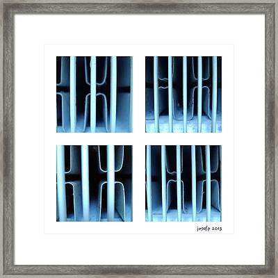Behind Bars Part One Framed Print by Sir Josef Social Critic - ART