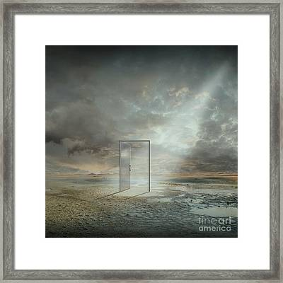Behind The Reality Framed Print by Franziskus Pfleghart