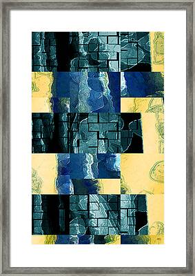 Behind The Windows No 3 Framed Print by Ben and Raisa Gertsberg