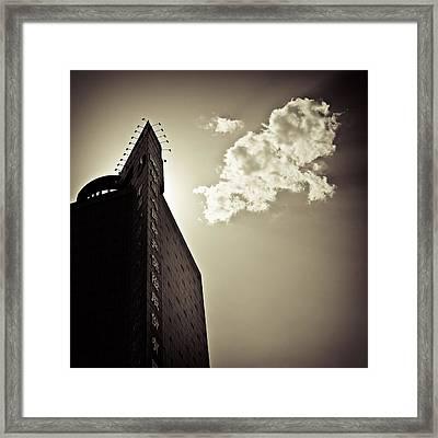 Beijing Cloud Framed Print by Dave Bowman