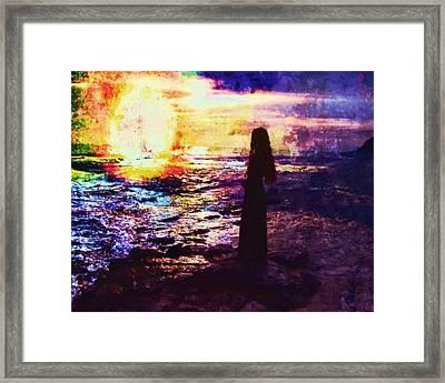 Being Called Away Framed Print by Joe Misrasi