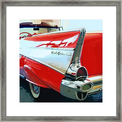 Bel Air Palm Springs Framed Print by William Dey