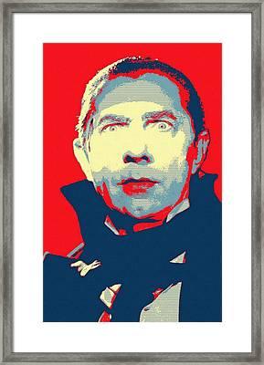Bela Lugosi In Mark Of The Vampire Framed Print by Art Cinema Gallery