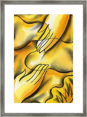 Belief Framed Print by Leon Zernitsky