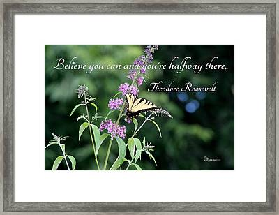 Believe - Featured In Featured Art- Comfortable Art And Beauty Captured Groups Framed Print by EricaMaxine  Price