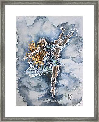 Believe Framed Print by Karina Llergo Salto