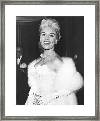 Belinda Lee, 1955 Framed Print by Everett