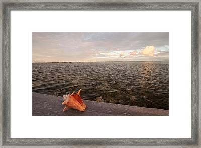 Belize Scenic Framed Print by Jean Noren