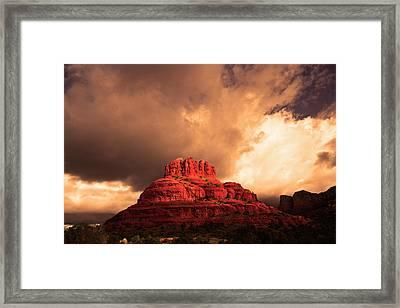 Bell Rock Framed Print by Tom Kelly