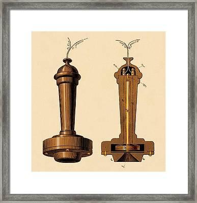 Bell Telephone Framed Print by David Parker