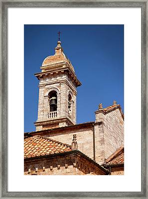 Bell Tower Of Sant Maria Assunta Church Framed Print by Brian Jannsen