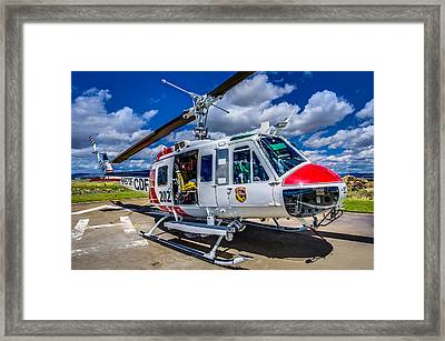 Bell Uh-1super Huey Close-up Framed Print by Scott McGuire